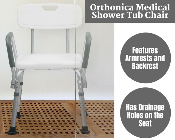 Orthonica Medical Shower Tub Chair