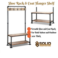 Shoe Rack + Coat Hanger