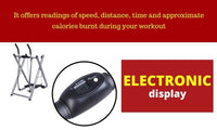 Fitness Glider Exercise Elliptical Machine