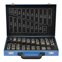 Twist Drill Bit Set In Metal Box Hss