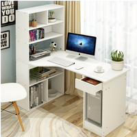 Office Shelf Desk Combination