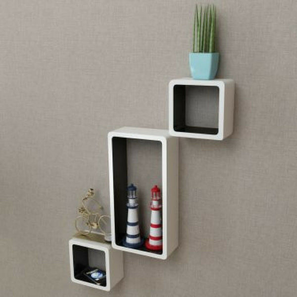 Floating Wall Display Shelf Cubes