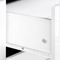 High Gloss TV Unit White 160cm