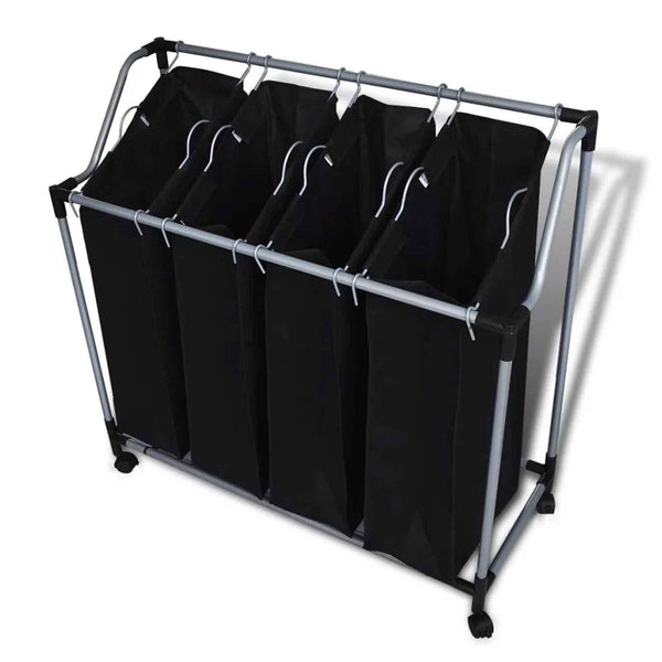 Black Laundry Hamper