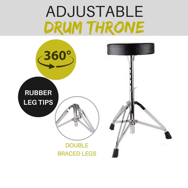 Drummers Guitar Piano Keyboard Stool