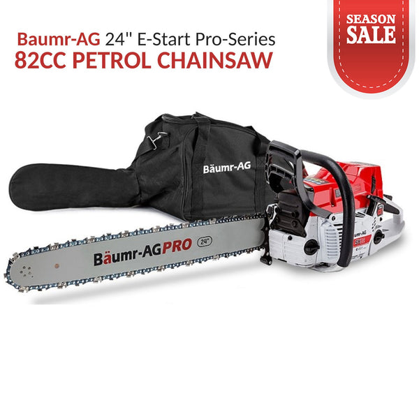 Petrol-Powered Chainsaw