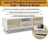 Wooden Entertainment Unit
