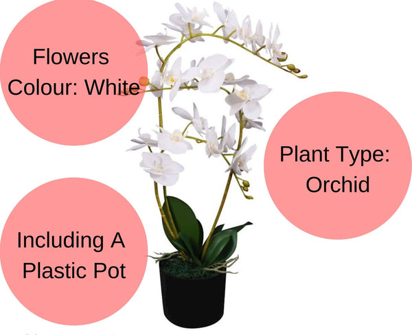 Artificial Orchid Flower Plant