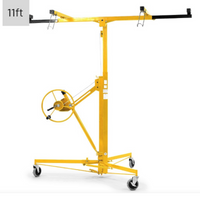 11ft Plaster Drywall Board Sheet Panel Hoist Lifter