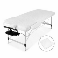 Portable Massage Table 75cm - Black