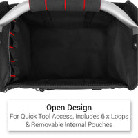12 Inch Open Tote Tool Bag