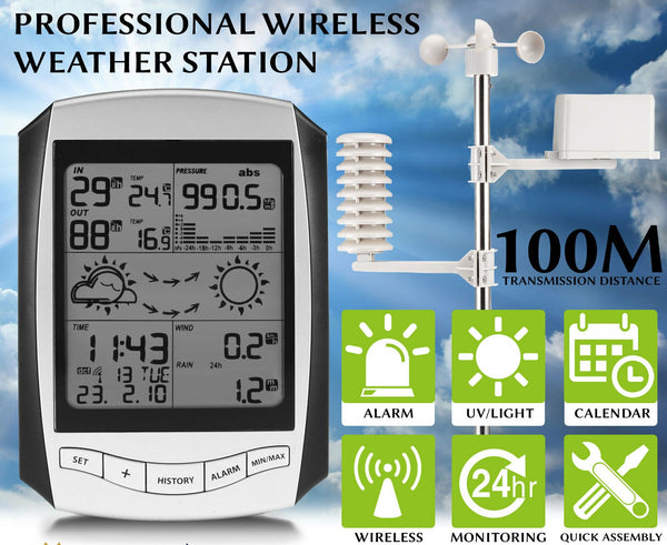 Wireless Weather Station Digital