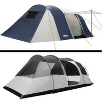 12 Person Canvas Dome Camping Tent