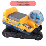 Kids Ride-on Excavator Digger - Yellow