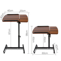 Portable Adjustable Laptop Stand - Walnut