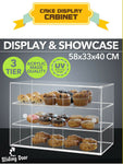 Cake Display Cabinet Cookies