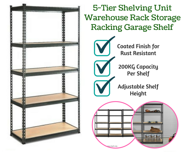 5-Tier Shelving Unit
