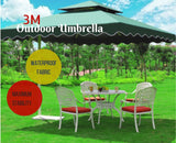 Outdoor Umbrella Square Garden Cover