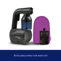 Sunless Spray Tan Gun with DIY Kit - Black