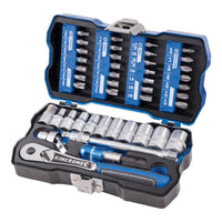 Kincrom 43-piece LOK-ON™ Socket & Bit Set