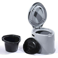 6L Portable Camping Toilet with Removable Bucket