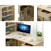 Large Combination Work Station Desk - White