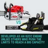 Baumr Petrol-Powered Chainsaw