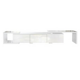 High Glosss TV Stand (White)