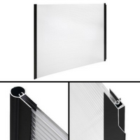 100 x 300cm  DIY Window Door Awning Cover Transparent
