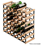 42 Bottles Timber Wine Rack