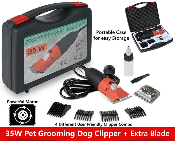 Pet Clipper Dog Cat Hair Trimmer