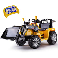 Ride-On Electric Bulldozer