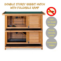 Wood Rabbit Hutch
