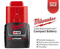 Milwaukee M12 Compact Battery