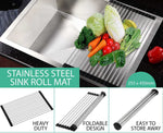 Roll Up Kitchen Sink Drainer