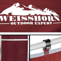 Weisshorn Double Camping Swag Red