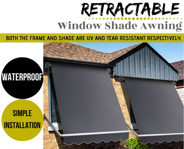 Window Shade Awning Privacy Screen