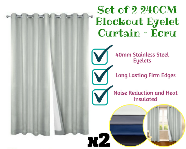 Blockout Eyelet Curtain