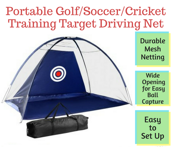 Outdoor Golf Net Soccer Cricket Training