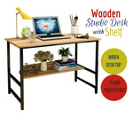 Wooden Studio Desk Home Office