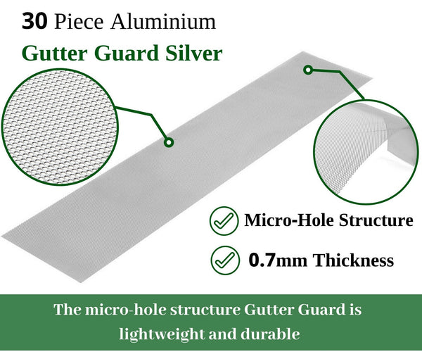 Aluminium Gutter Guard Leaf