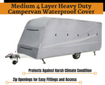 Campervan Waterproof Cover