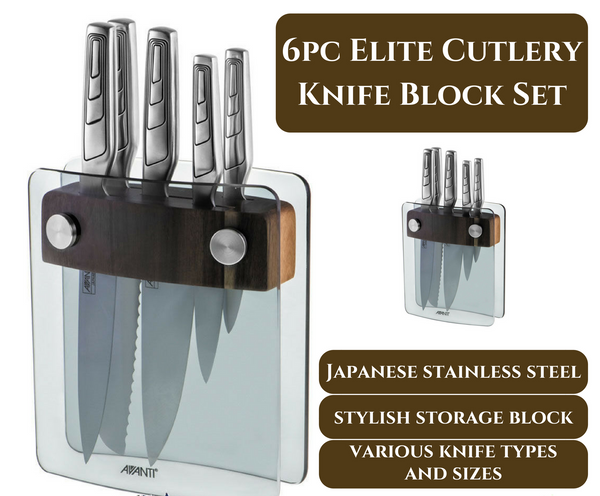 6 Piece Professional Elite Cutlery Knife