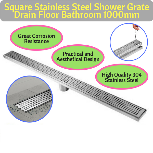 Stainless Steel Shower Grate