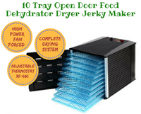 10 Tray Open Door