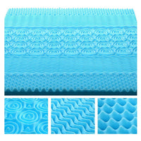 Cool Gel Memory Foam Mattress Topper Queen 5cm