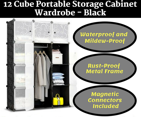 12 Cube Portable Storage