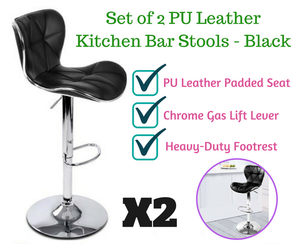 2 Bar Stools Kitchen