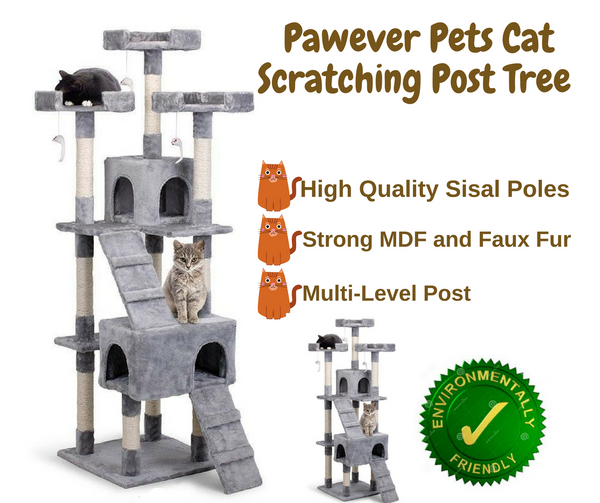 Cat Scratching Post Tree
