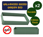 Galvanised Raised